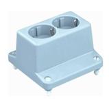 Afbeelding vanDeksel met 2-voudige wandcontactdoos voor kabeldoos type 3640