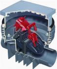 Billede afACO QUATRIX K højvandslukker 110mm, 230V, f/ sort spildevand, indbygningsmodel