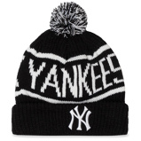 Imagine dinCăciulă 47 BRAND New York Yankees Calgary Cuff Knit B CGLY17ACEXH BKB Black