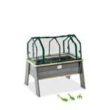 Bilde avEXIT Aksent plantebord L med drivhus og hageredskaper