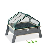 Bilde avEXIT Aksent plantebord XL med drivhus og hageredskaper