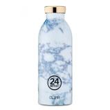 Billede afClima Termoflaske 24Bottles hvid marmor