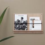 Billede afA Magazine Gallery magasinholder til væg