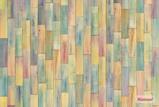 Afbeelding vanGekleurde Stenen 4 delig Vlies Fotobehang 368x248cm