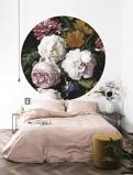 Afbeelding vanKEK Amsterdam behangcirkel Golden Age Flowers (Ø190 cm)