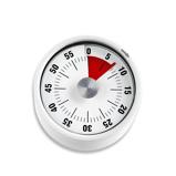 ZdjęcieADE minutnik mechaniczny, do 59 minut, Åred. 6 x 3,5 cm, biaÅy (nowoÅÄ)