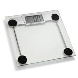 ZdjęcieADE Leni 30 x 30 cm srebrna waga Åazienkowa elektroniczna szklana