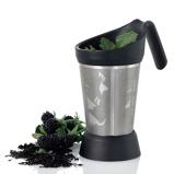 ZdjęcieADHOC Grantea (AH TE85) 15 cm czarny zaparzacz do herbaty stalowy