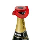 ZdjęcieADHOC Gusto (AH FV35) czerwony korek do szampana plastikowy