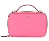 Kép:Borsa a bandoliera Furla Babylon M in pelle rosa con tracolla e maniglia