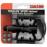 Afbeelding vanSimson pedalen set Sport Deluxe 9/16 inch zwart