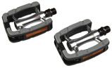 Afbeelding vanSimson pedalen set Elegant Comfort 9/16 inch grijs/zwart