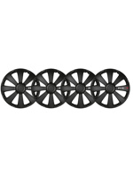Thumbnail of Carpoint wieldoppen RS T 13 inch ABS zwart set van 4