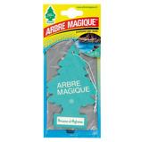 Afbeelding vanArbre Magique luchtverfrisser 12 x 7 cm Brezza Di Mykono groen