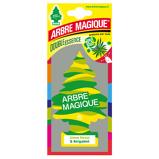 Afbeelding vanArbre Magique luchtverfrisser 12 x 7 cm Forest & Bergamot groen