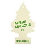 Afbeelding vanArbre Magique luchtverfrisser 12 x 7 cm Mental Glaciale wit