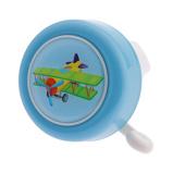 Afbeelding vanPexkids fietsbel Ik ben een vliegtuig 50 mm blauw