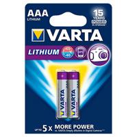 Thumbnail of Batterij Varta Ultra lithium 4xAAA Staaf En Blokbatterijen