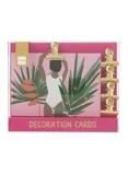 Image ofHEMA 10 pack Decorative Cards With Magnetic Clips