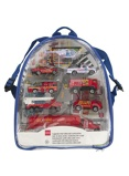 Image ofHEMA Backpack With Diecast Cars
