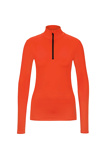 Afbeelding vanBogner 5488 Margo2 dames ski pulli met rits oranje