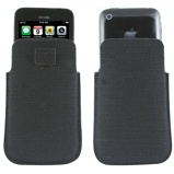 Afbeelding vanMuvit Pocket Slim Hemp Case Black voor iPhone 4 / 3Gs