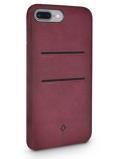 Afbeelding vanTwelve South Relaxed Leather Wallet Case Marsala voor iPhone 7 Plus /
