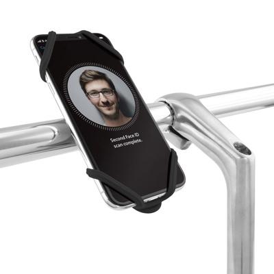 Afbeelding van BoneSport Bike Tie 2 Universele Fietshouder Zwart telefoonhouder