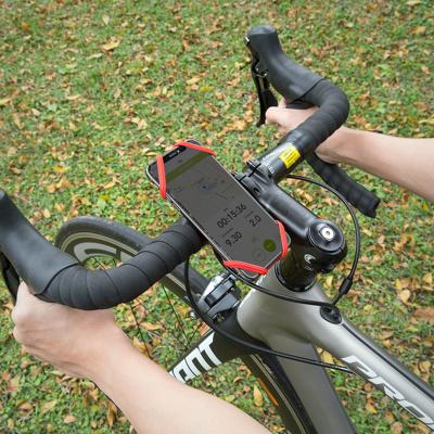 Afbeelding van Bone Fiets Telefoonhouder Bike Tie 2 Rood