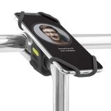 Afbeelding vanBoneSport Bike Tie Pro 2 Universele Fietshouder Zwart telefoonhouder