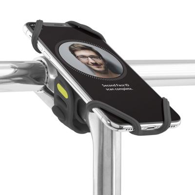 Afbeelding van BoneSport Bike Tie Pro 2 Universele Fietshouder Zwart telefoonhouder