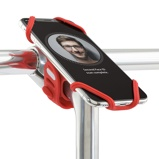Afbeelding vanBone fietshouder bike tie pro2 red 4 6,5 inch