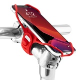 Afbeelding vanBone Bike Tie Pro 3 Universele Fietshouder Rood