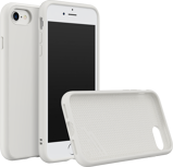 Afbeelding vanApple iPhone 8 / 7 Hoesje Rhinoshield Wit Backcover Extreme case SolidSuit