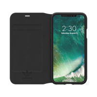Thumbnail of adidas Originals OR Booklet Case NEW BASICS iPhone X / Xs black/white