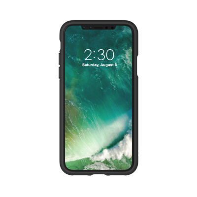Afbeelding van Adidas Moulded Case iPhone X Black/White