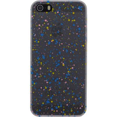 Afbeelding van Xccess Cover Spray Paint Glow Apple iPhone 5/5S/SE Blue