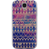 Afbeelding vanXccess Cover Samsung Galaxy S4 I9500/I9505 Purple Aztec