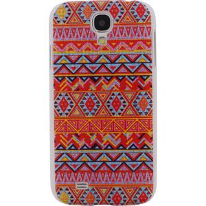 Afbeelding van Xccess Cover Samsung Galaxy S4 I9500/I9505 Orange Aztec