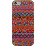 Afbeelding vanXccess Cover Apple iPhone 5/5S/SE Orange Aztec