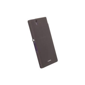 Afbeelding van 89802 Krusell FrostCover Sony Xperia Z Transparent Black