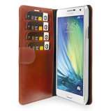 Afbeelding vanValenta Booklet Classic Luxe Brown Galaxy A7