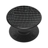 Afbeelding vanPopSockets Luxe PopGrip Embossed Metal Croc