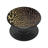 Afbeelding vanPopSockets Luxe PopGrip Embossed Metal Leopard