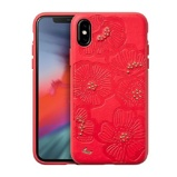 Afbeelding vanApple iPhone XR Hoesje LAUT Rood Backcover