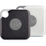 Afbeelding vanTile Pro Combopack Zwart en Wit 2 Stuks Bluetooth tracker