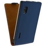Afbeelding vanMobilize Ultra Slim Flip Case LG Optimus L5 E610 Dark Blue