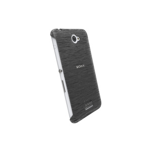 Afbeelding van 90064 Krusell FrostCover Sony Xperia E4 Aqua Transparent Black Kruse
