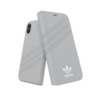 Thumbnail of adidas OR Booklet Case PU SUEDE FW18 for iPhone X/Xs grey