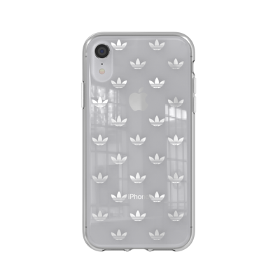 Afbeelding van adidas OR Snap case ENTRY SS19 for iPhone 9 silver colored